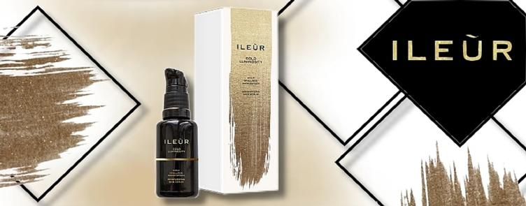 ILEUR-Gold Luminosity Hylauronove Serum Baner