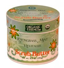 ORGANIC ESSENCE SCRUB BUTTER - Revitalizing Body Scrub with LEMONGRASS MINT