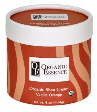 ORGANIC ESSENCE SHEA CREAM - Moisturising body balm with the scent of vanilla and sweet orange