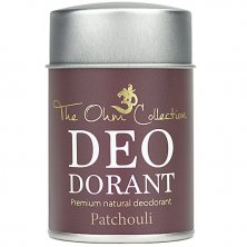 THE OHM COLLECTION - Púdrový Dezodorant PATCHOULI