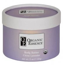 ORGANIC ESSENCE FLOWER BUTTER CITRUS LAVENDER - Mango butter with exotic oils and citrus lavender scent