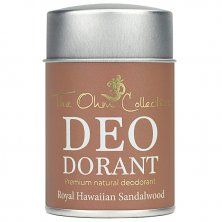 THE OHM COLLECTION - Pudrový Deodorant HAWAIIAN SANDALWOOD