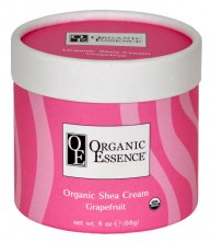 ORGANIC ESSENCE SHEA CREAM - Moisturising body balm with the scent of sweet orange and grapefruit