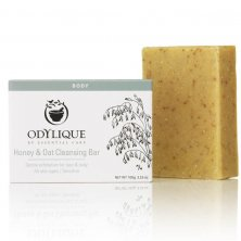 ODYLIQUE - Honey & Oat Cleansing Bar Soap
