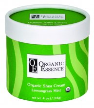 ORGANIC ESSENCE SHEA CREAM - Regenerating Body Balm LEMONGRASS MINT