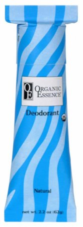 ORGANIC ESSENCE NATURAL DEODORANT - Certified Organic Deodorant without aroma - Size: 62g
