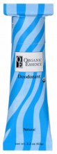 ORGANIC ESSENCE NATURAL DEODORANT - Certified Organic Deodorant without aroma