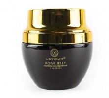 LOVINAH - BEETOX ROYAL JELLY - Hydrating Sleep Mask with Peptides and Colloidal Gold