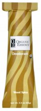 ORGANIC ESSENCE WOOD SPICE DEODORANT -  Certified Organic Dedorant with oriental scent of patchouli, cloves and orange