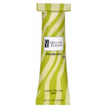 ORGANIC ESSENCE LEMON TEA TREE MINT DEODORANT - Tuhý, krémový deodorant se svěží vůní lemon tea tree a máty