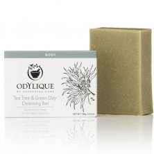 ODYLIQUE - Tea Tree and Green Clay Bar Soap