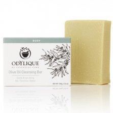ODYLIQUE - Pure Olive Bar Soap with Castor Oil and Cocoa Butter