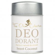 THE OHM COLLECTION - Pudrový Deodorant SWEET COCONUT