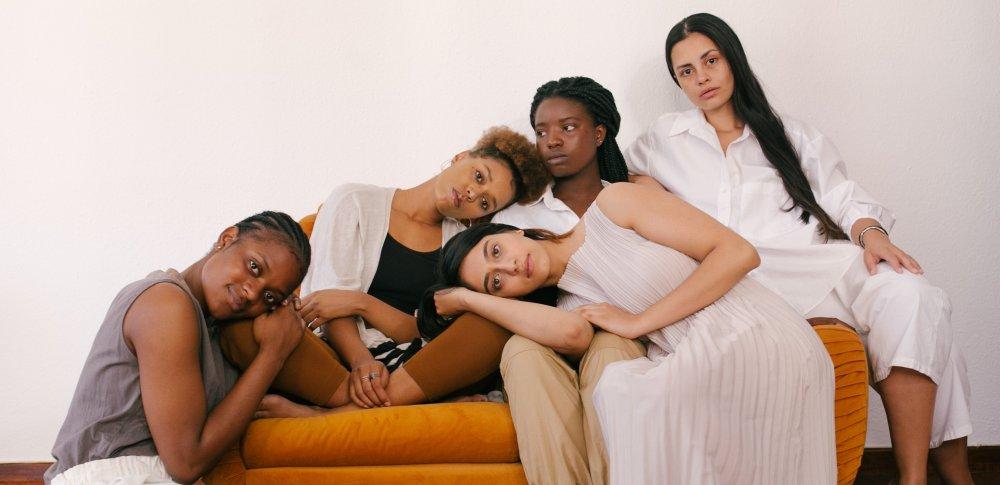 Ženy s různými typy pokožky