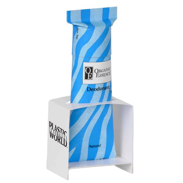 Organic Essence - papírový stojan